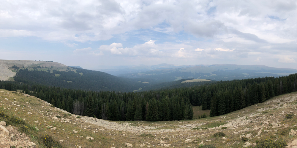 View from Medicine Mountain